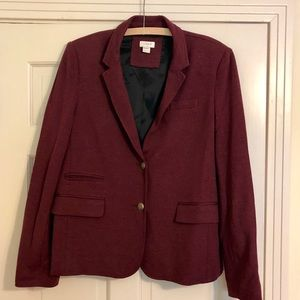 J.Crew Factory stretch knit blazer